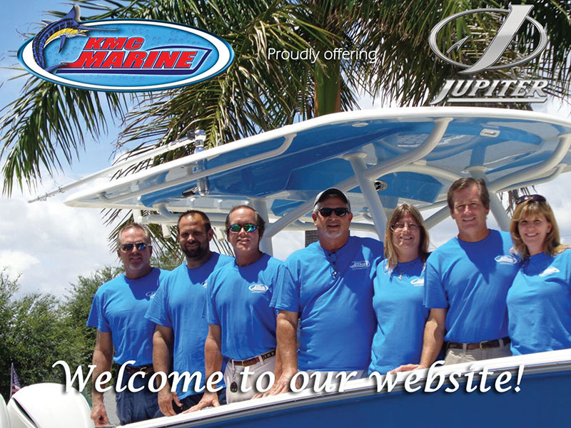 KMC Marine proudly offering Jupiter Boats